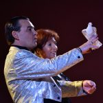 The magicians Joe Walthera & Pafema