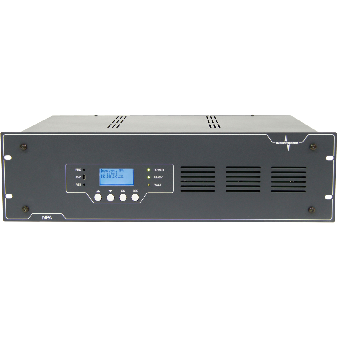 IP-based Public Address Unit  controlled by th INTRON-D plus over Ethernet/IP