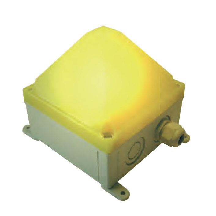 LED Multifuncion Warning Beacon for use in industrial environment with impact-proof housing