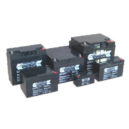 Battery Set 48 VDC with Sealed, rechargeable and valve- regulated lead acid battery