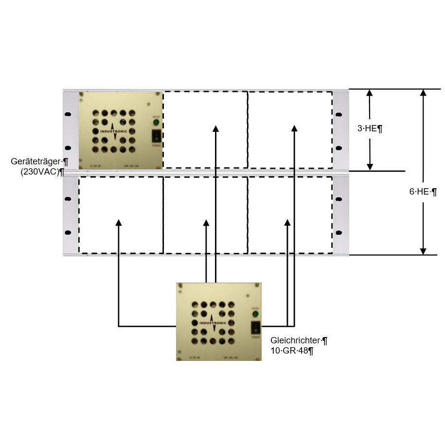Power Supply Systems with adjustable output voltage from 42 V to 56 V